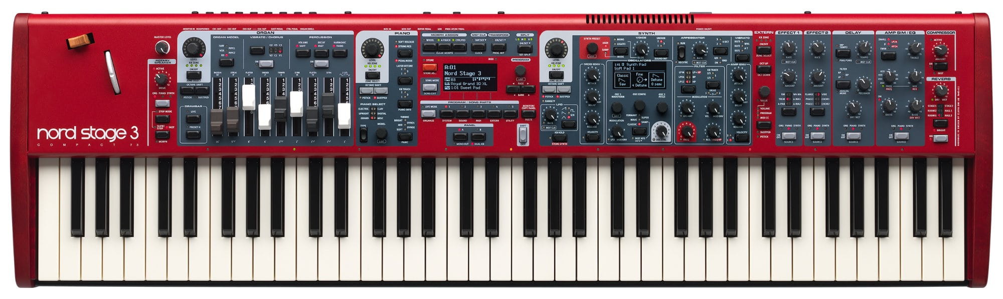 Stagepianos - Clavia Nord Stage 3 Compact - Onlineshop Musikhaus Kirstein