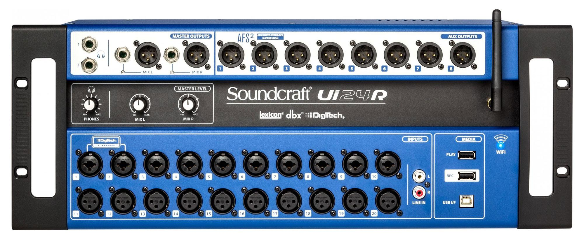 Mischpulte - Soundcraft Ui24R Digital Mischpult - Onlineshop Musikhaus Kirstein