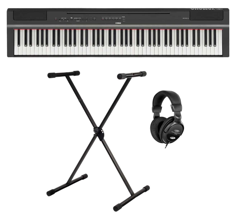 Digitalpianos - Yamaha P 125B Stage Piano Set Schwarz - Onlineshop Musikhaus Kirstein