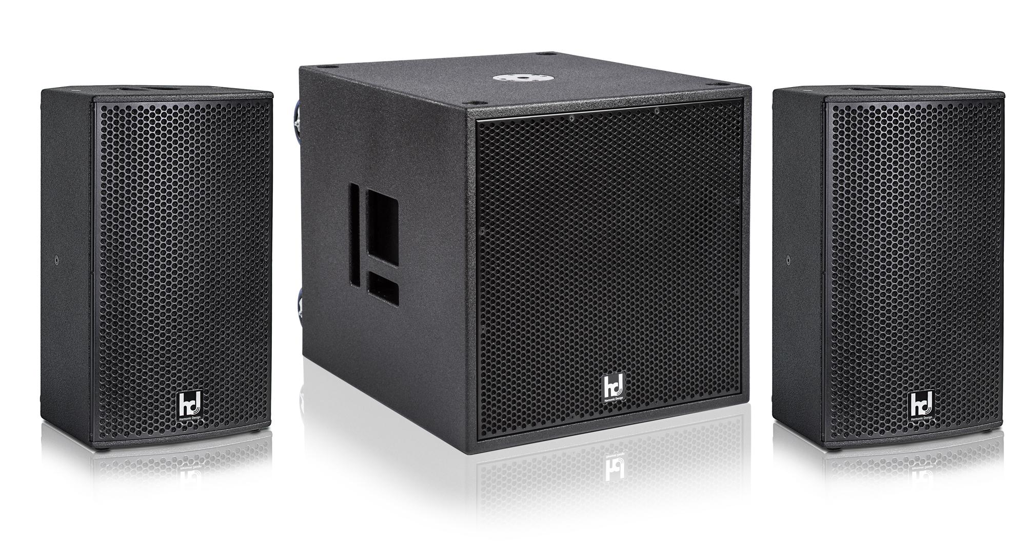 Harmonic Design MP10 P18 Basis Multi DSP Aktivsystem