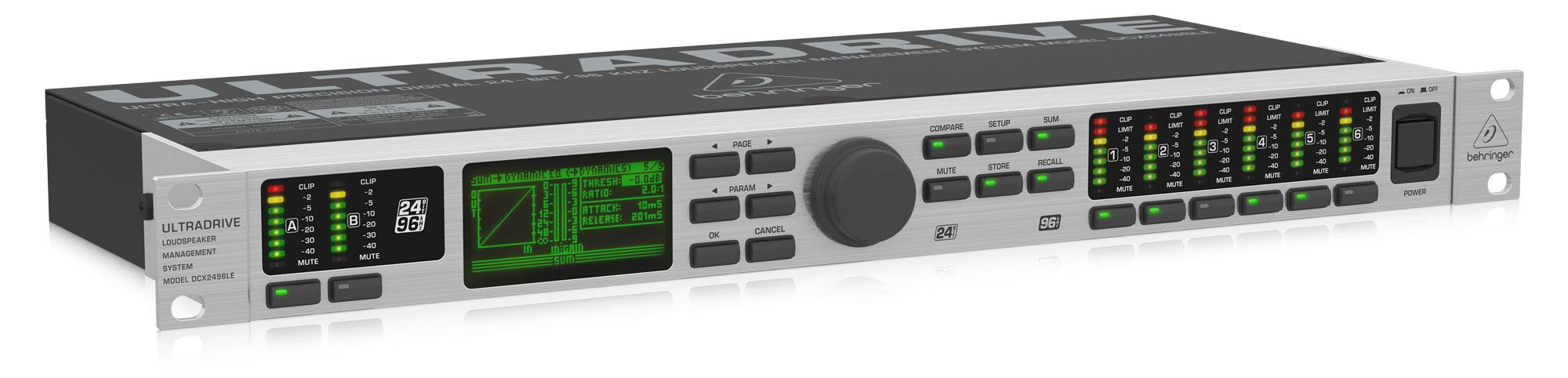 Studioeffekte - Behringer DCX2496LE Ultradrive - Onlineshop Musikhaus Kirstein