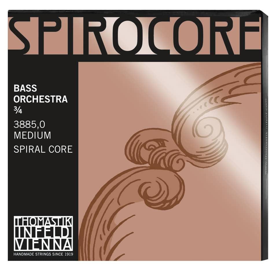 Streichsaiten - Thomastik Spirocore Orchestra 3|4 M Saitensatz für Kontrabass - Onlineshop Musikhaus Kirstein