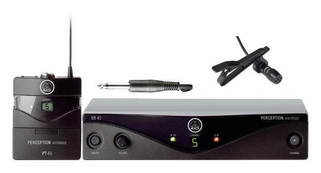 AKG PW45 Presenter Set ISM inkl. LA 30 EA Lavalier Mikrofon