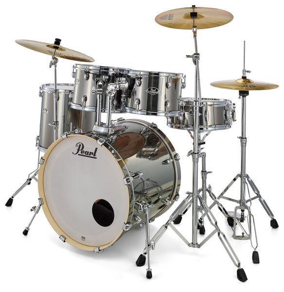 Pearl Export EXX705NBR|C21 Drumkit Smokey Chrome
