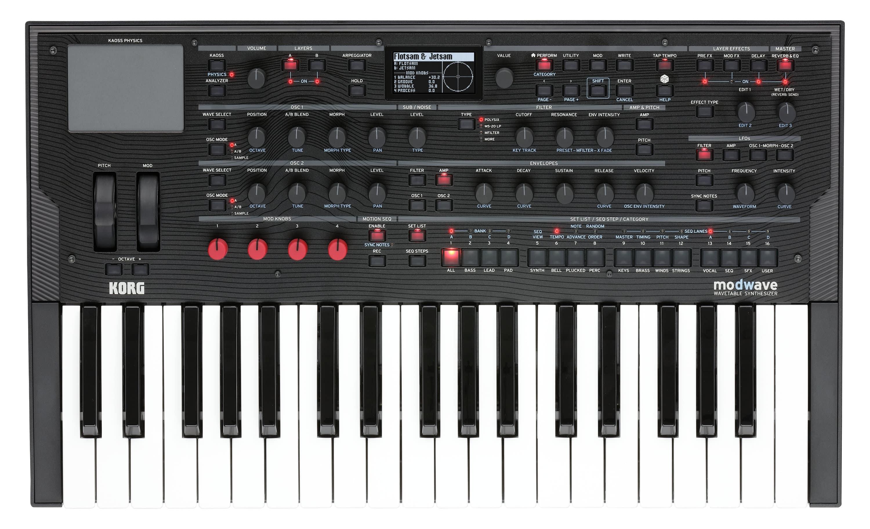 Synthesizer - Korg modwave Wavetable Synthesizer - Onlineshop Musikhaus Kirstein