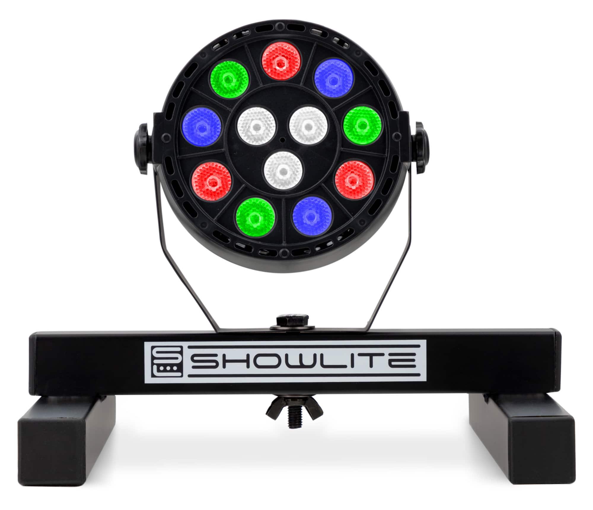 Lichtsets - Showlite SPS 121 LED Smart Party Floor Spot RGBW Stativ Set - Onlineshop Musikhaus Kirstein