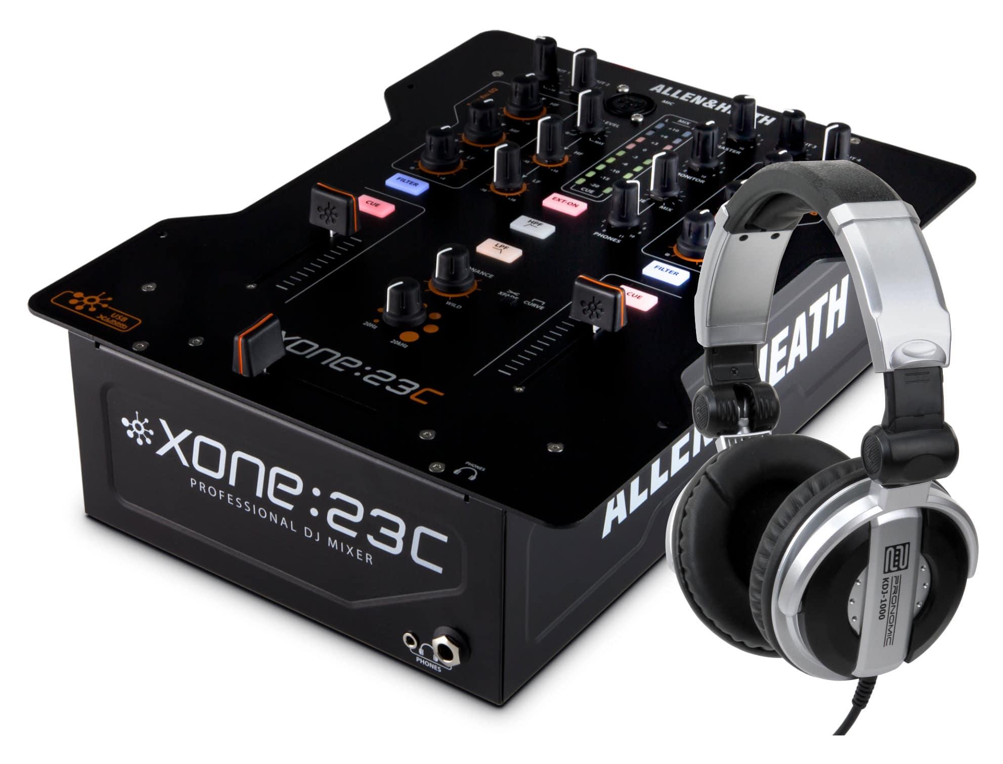 Djmixer - Allen Heath Xone 23C Set - Onlineshop Musikhaus Kirstein