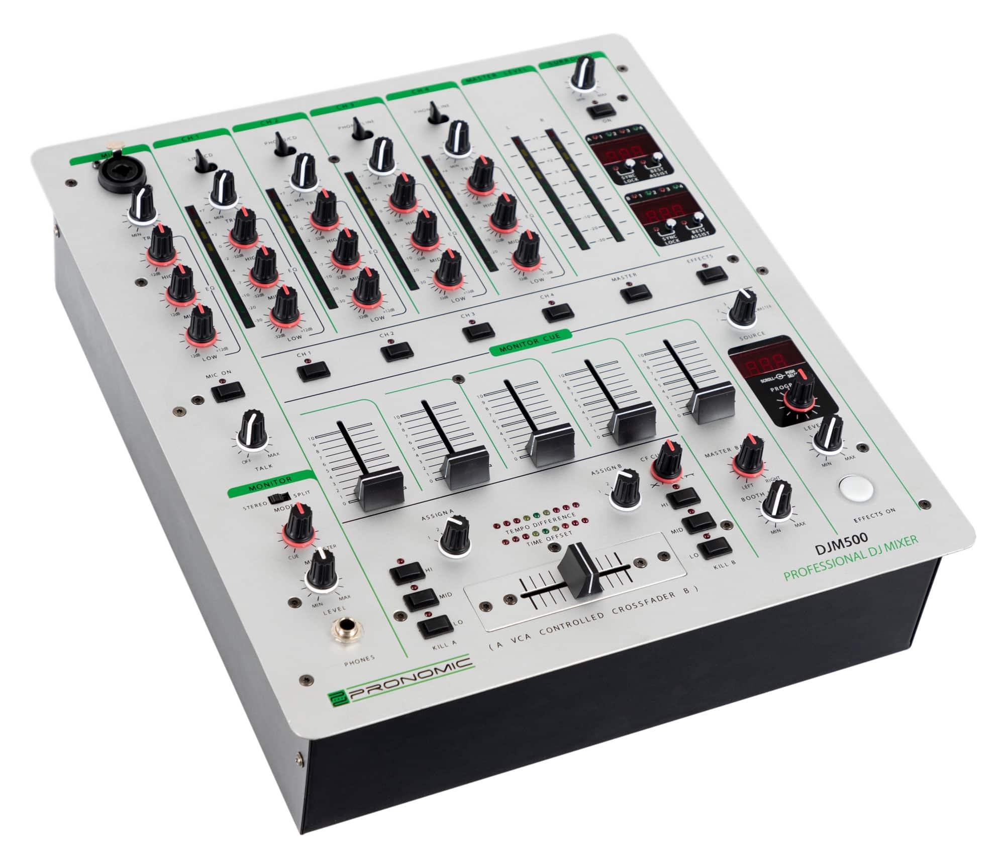 Djmixer - Pronomic DJM500 5 Kanal DJ Mixer - Onlineshop Musikhaus Kirstein