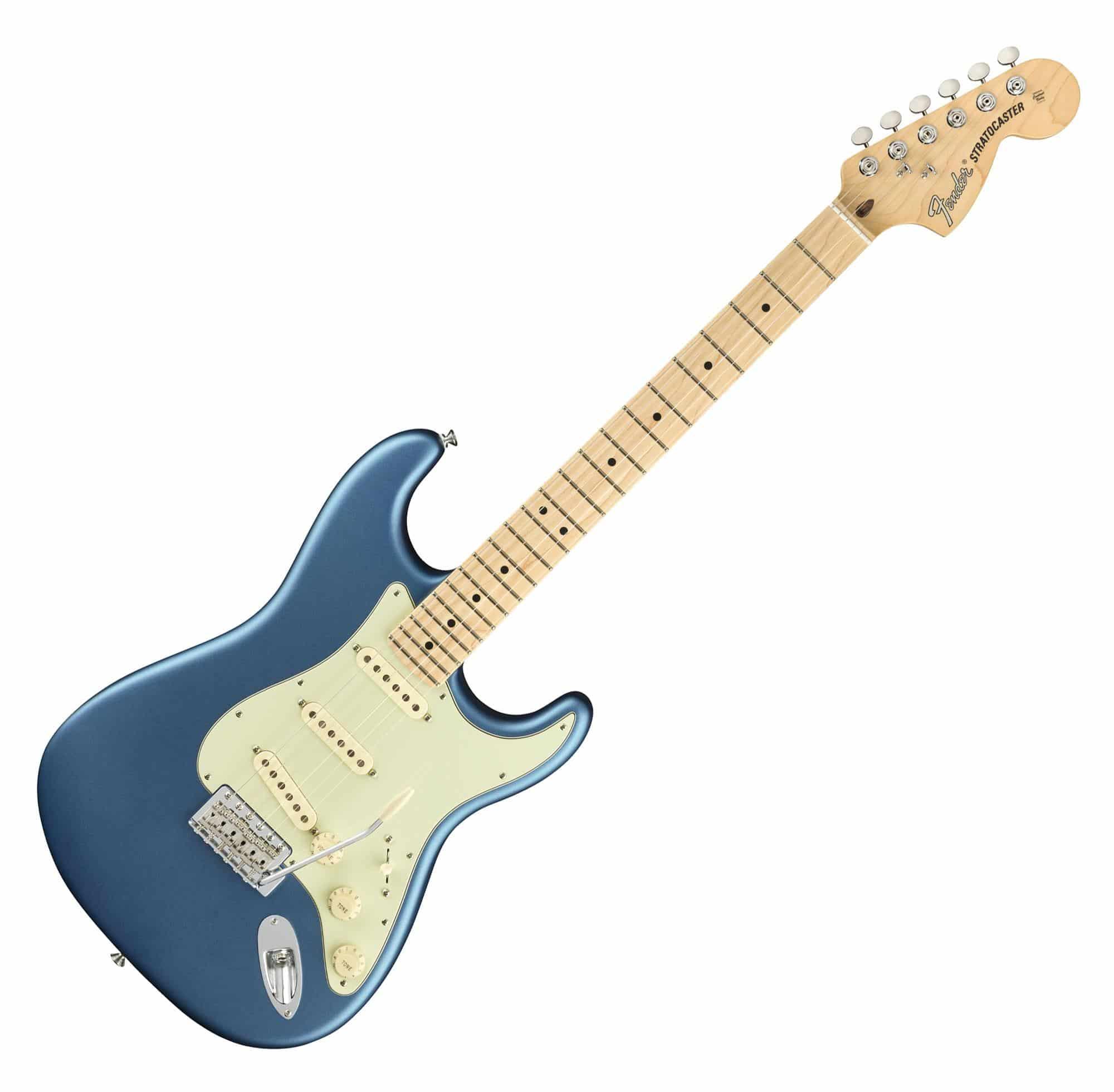 Egitarren - Fender American Performer Strat MN SLPB - Onlineshop Musikhaus Kirstein