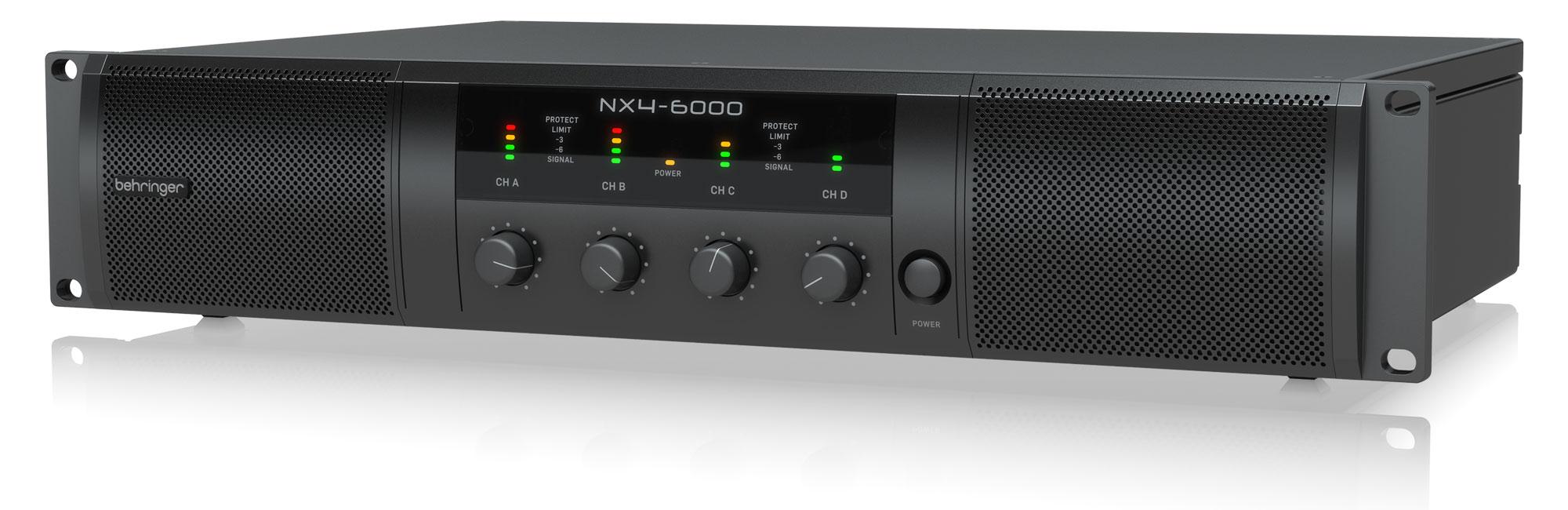 Paendstufen - Behringer NX4 6000 Endstufe Retoure (Zustand gut) - Onlineshop Musikhaus Kirstein