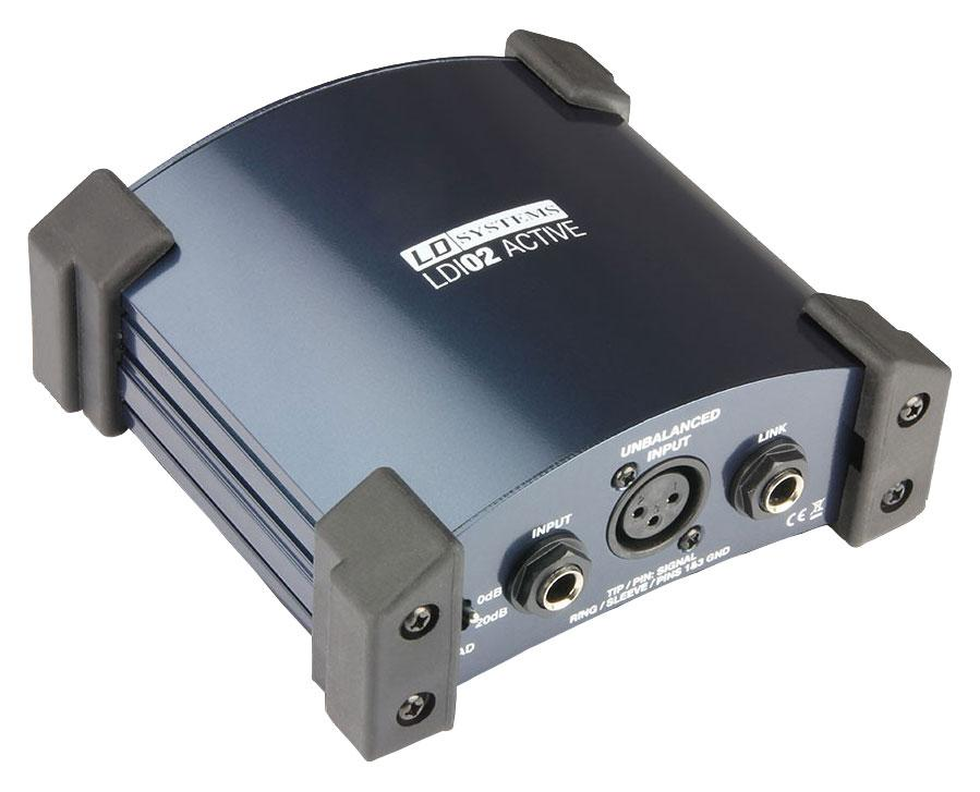 Diboxen - LD Systems LDI 02 Aktive DI Box - Onlineshop Musikhaus Kirstein
