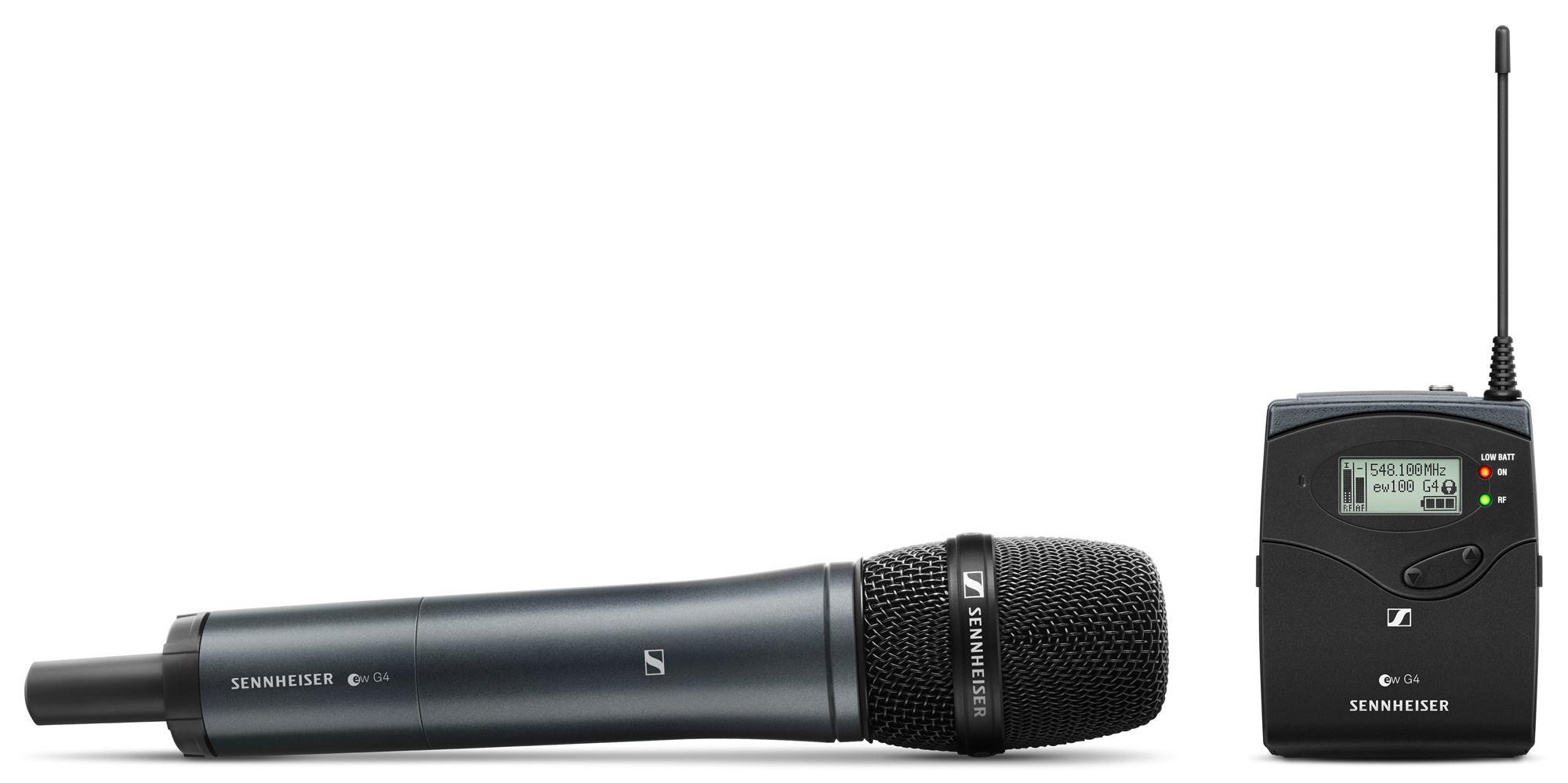 Drahtlossysteme - Sennheiser EW 135P G4 Handheld Camera Set E Band - Onlineshop Musikhaus Kirstein