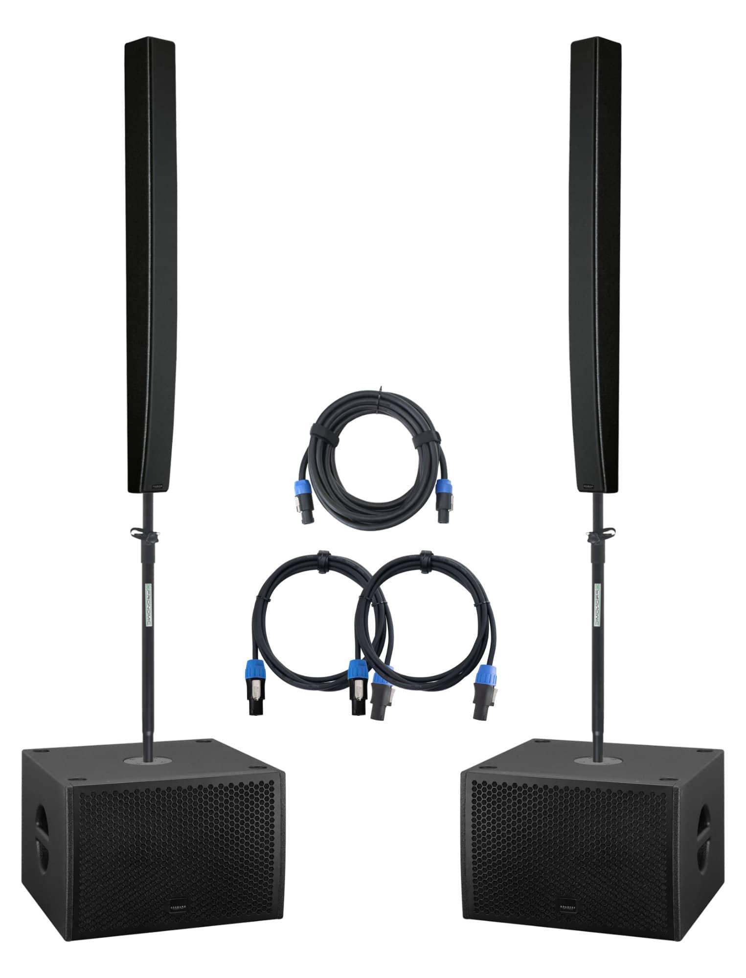 Boxenkomplettanlagen - Seeburg L16j|G Sub 1201dp Stereo Extended Set - Onlineshop Musikhaus Kirstein