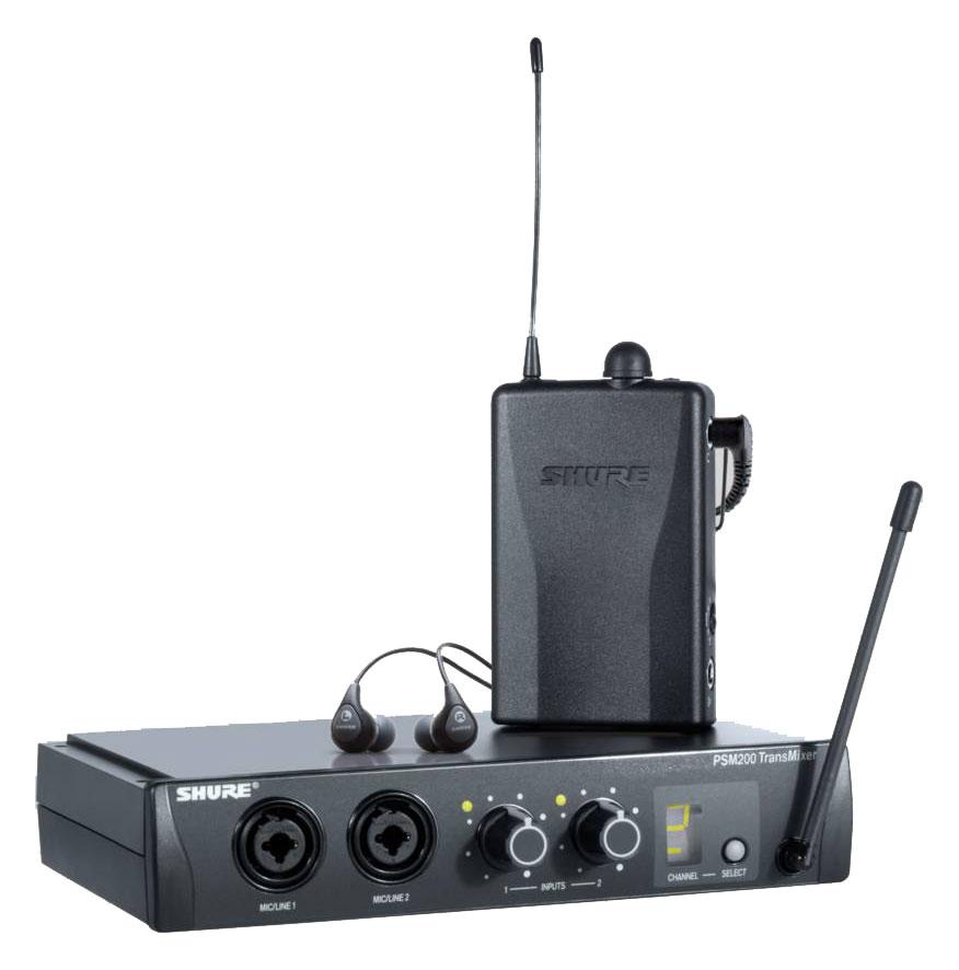 Shure PSM 200 In Ear Monitoring System