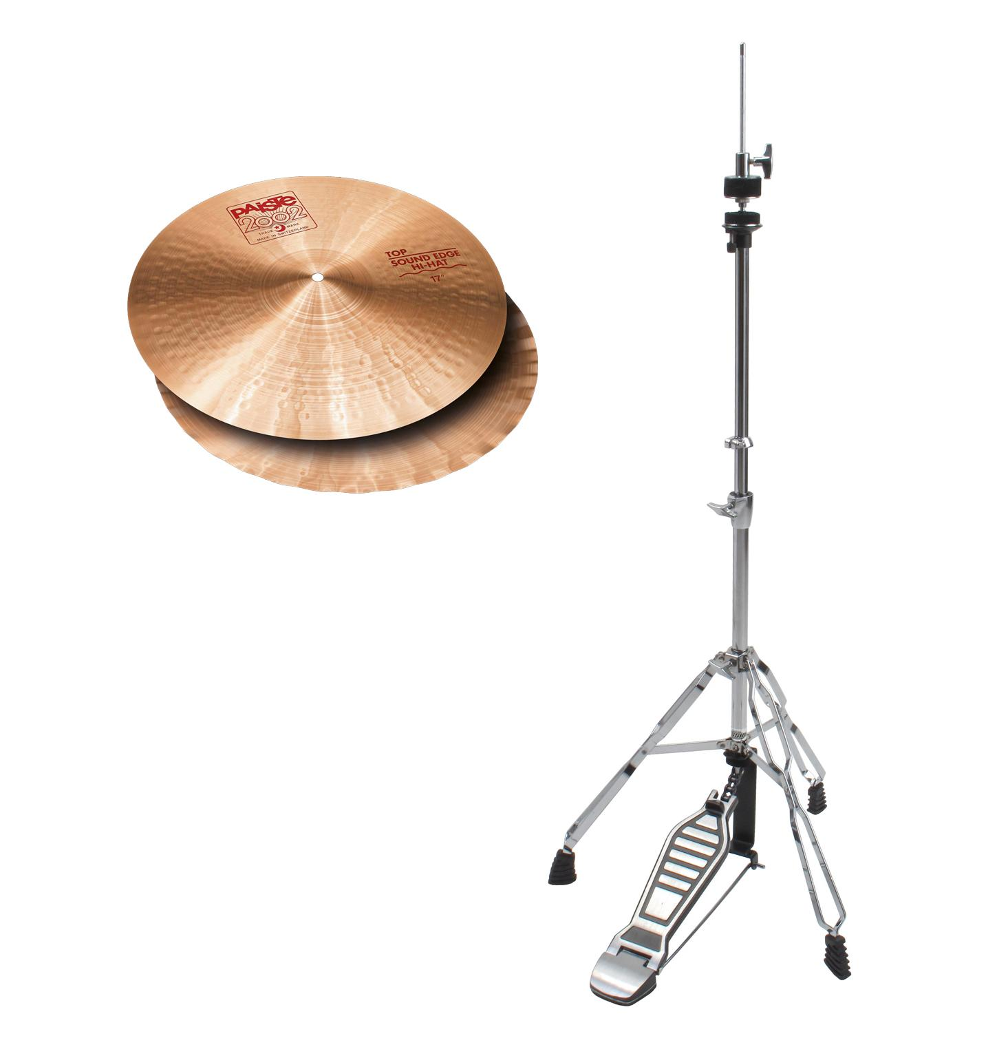 Paiste 2002 14' Sound Edge Hi Hat HiHat Maschine SET