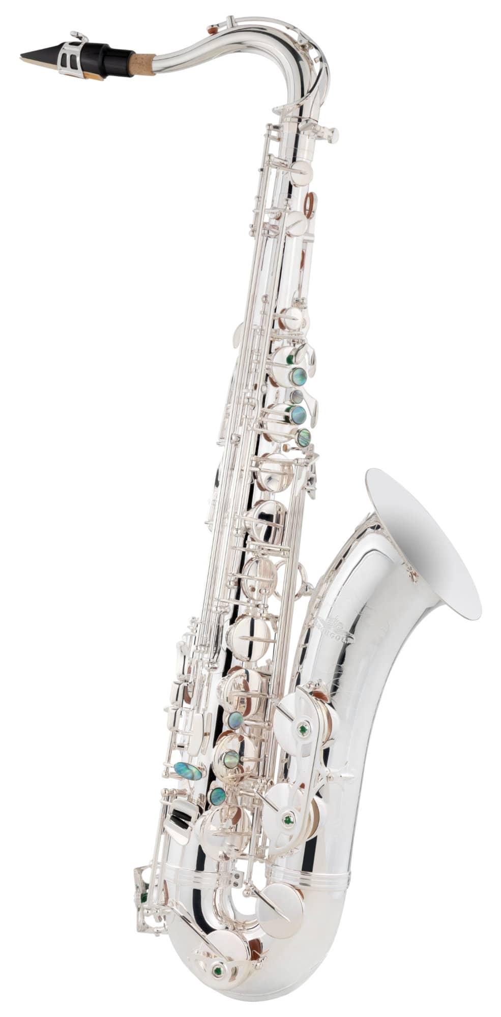 Saxophone - Lechgold LTS 20S Tenor Saxophon versilbert - Onlineshop Musikhaus Kirstein
