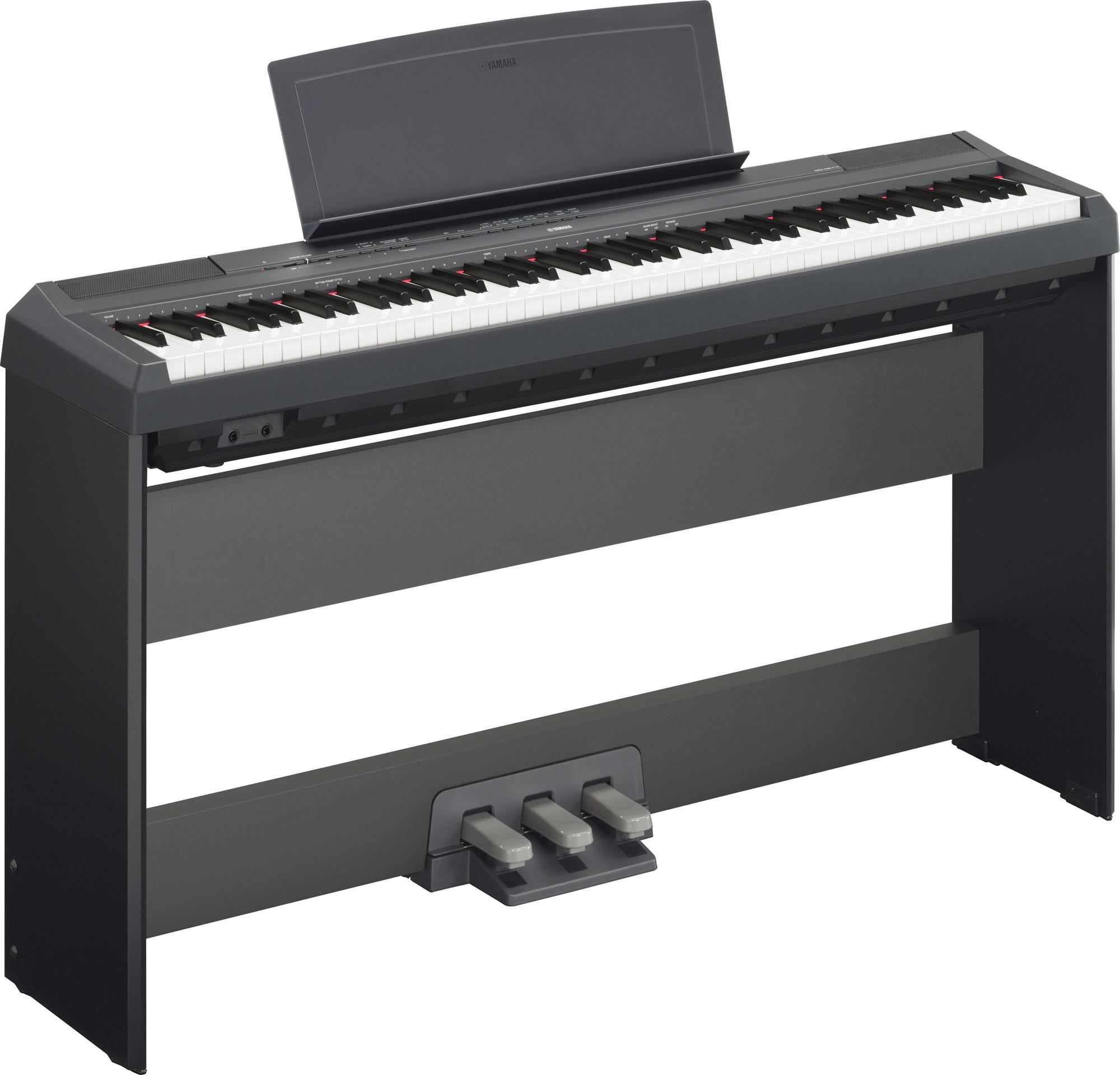 Yamaha P 115B Stage Piano Black SET inkl. Homeständer und Pedaleinheit