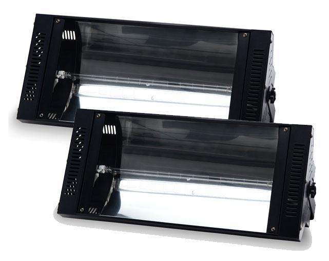 2 x Showlite S 1500 Stroboskop 1500W Set