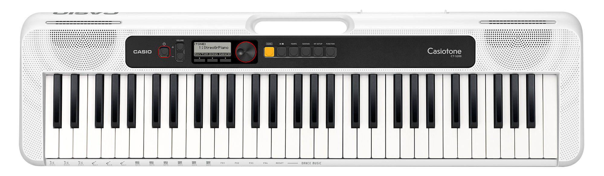 Homekeyboards - Casio CT S200 WE Keyboard Weiß - Onlineshop Musikhaus Kirstein