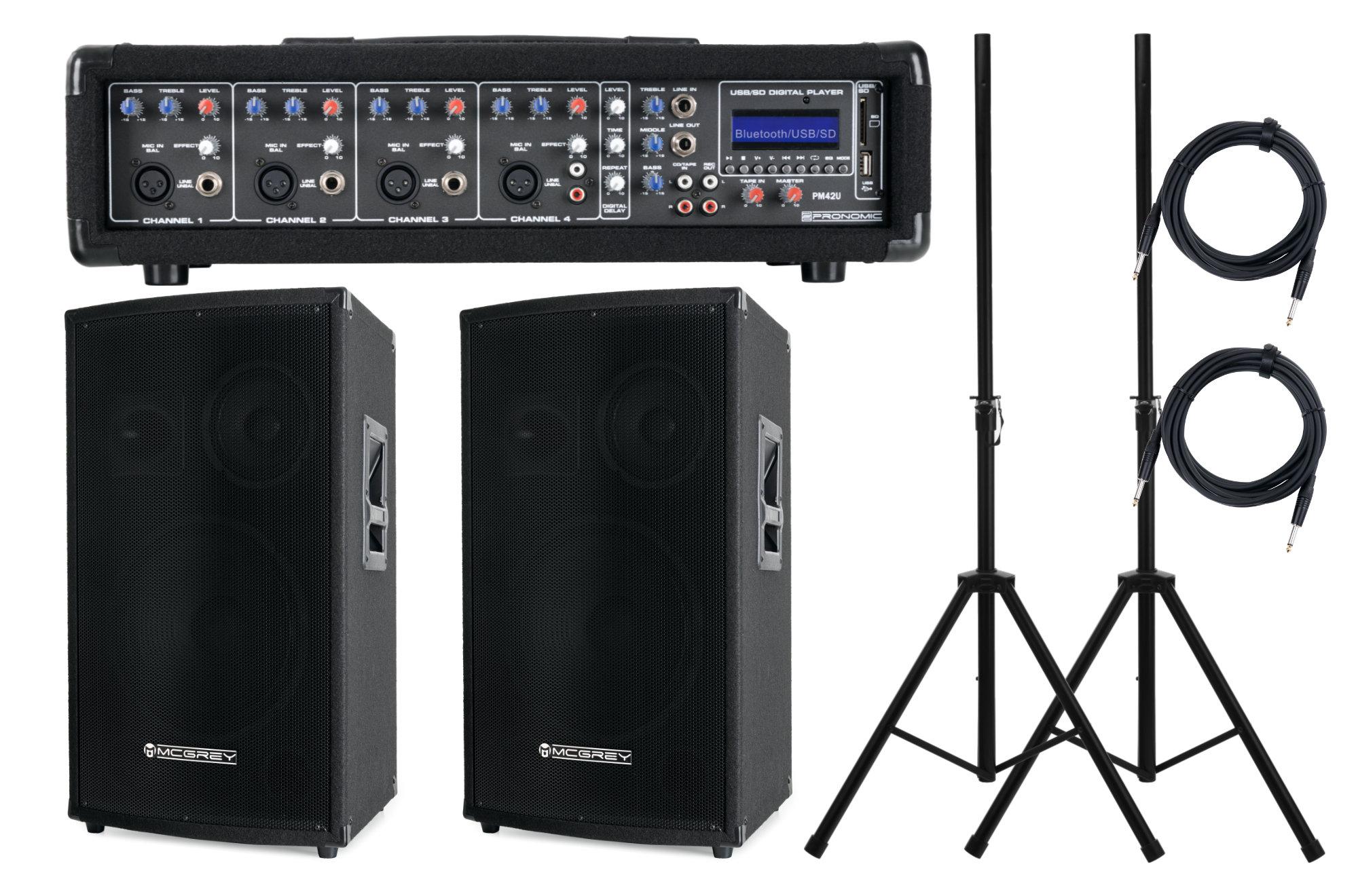 Pronomic PM42 Party StagePower Set