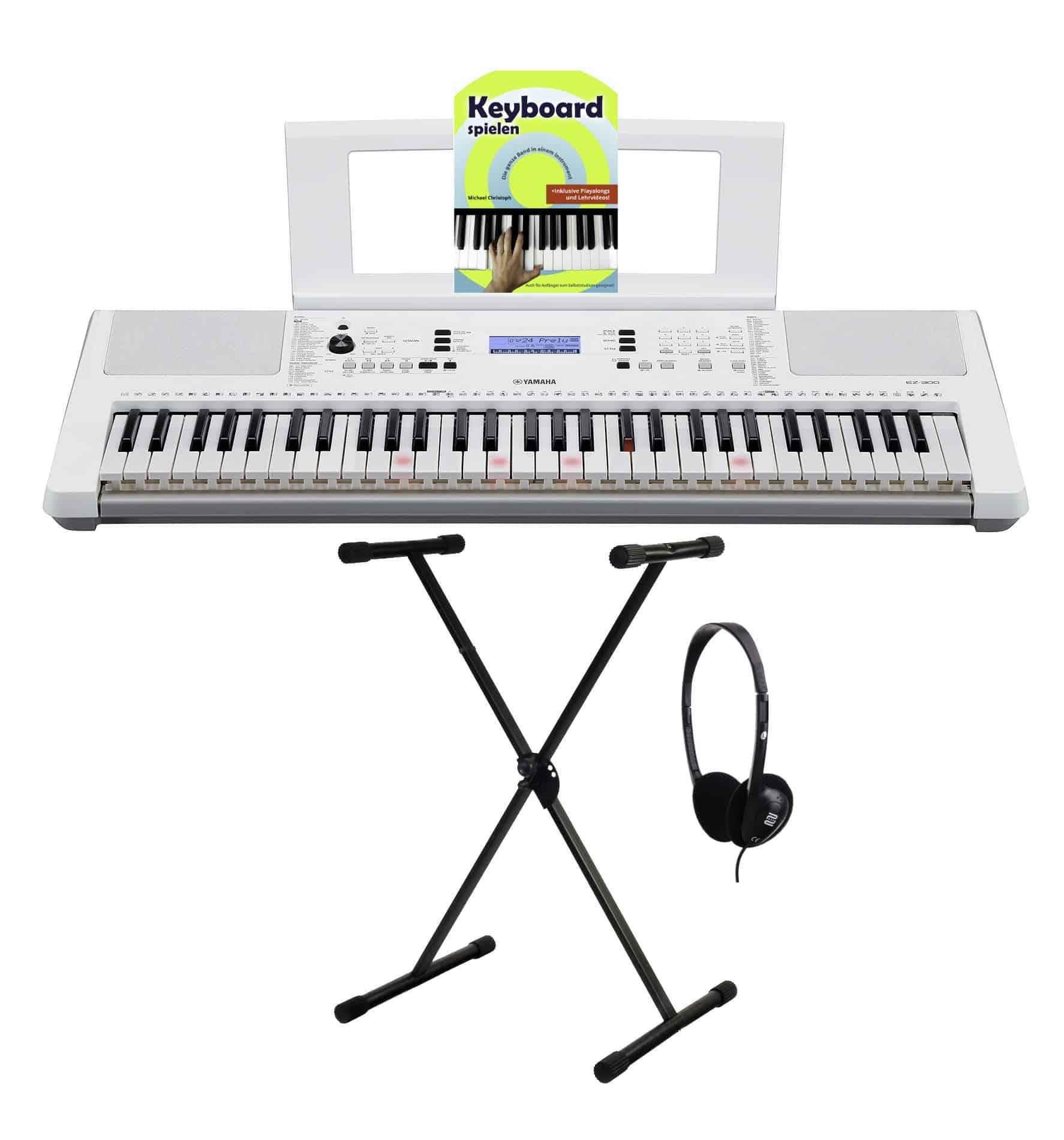 Homekeyboards - Yamaha EZ 300 Leuchttastenkeyboard Set - Onlineshop Musikhaus Kirstein
