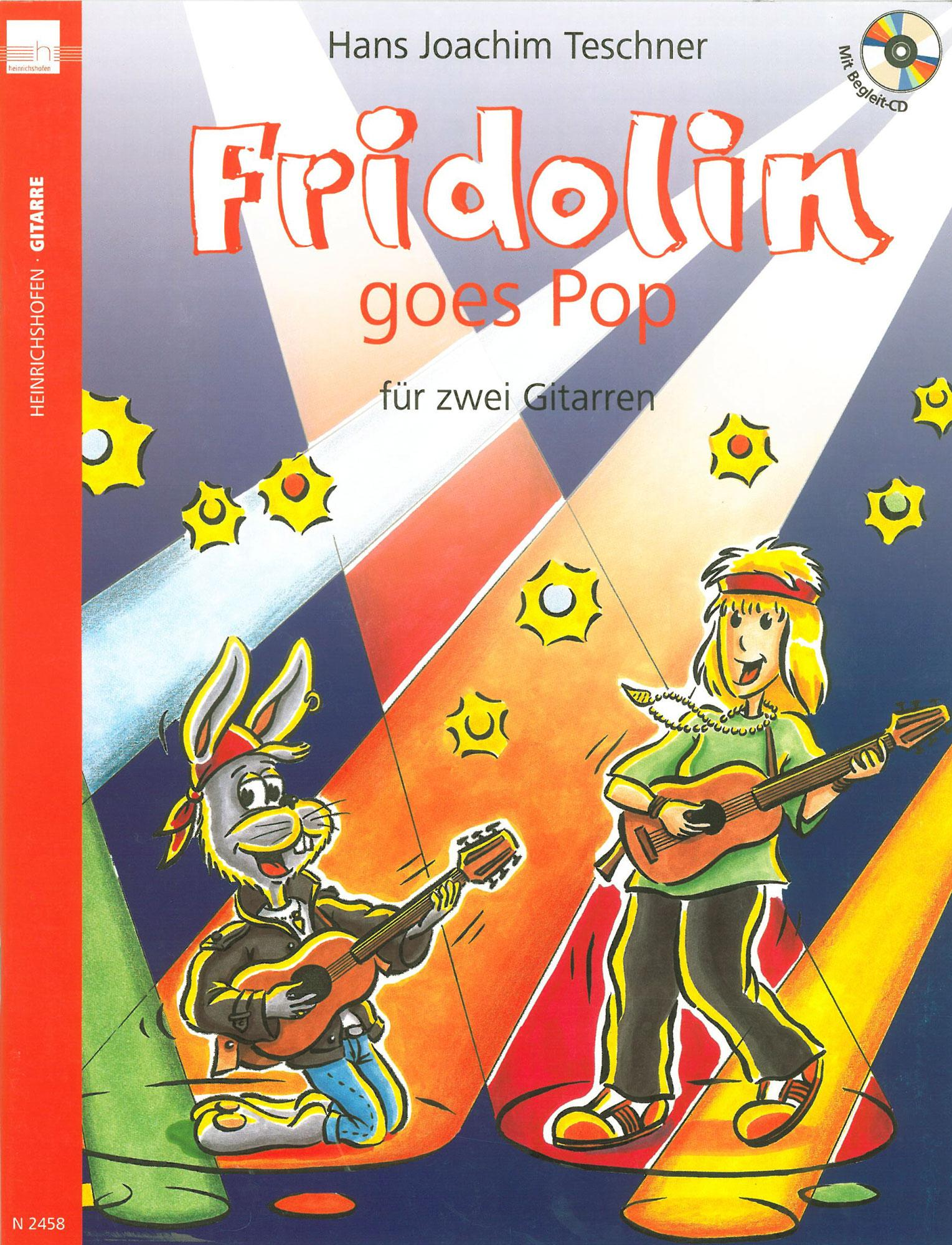 Gitarrelernen - Fridolin goes Pop für zwei Gitarren CD - Onlineshop Musikhaus Kirstein