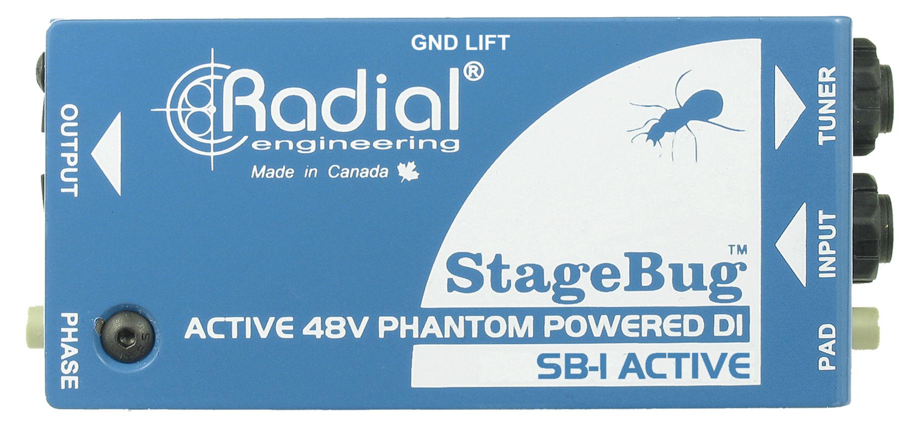 Diboxen - Radial Engineering StageBug SB 1 - Onlineshop Musikhaus Kirstein