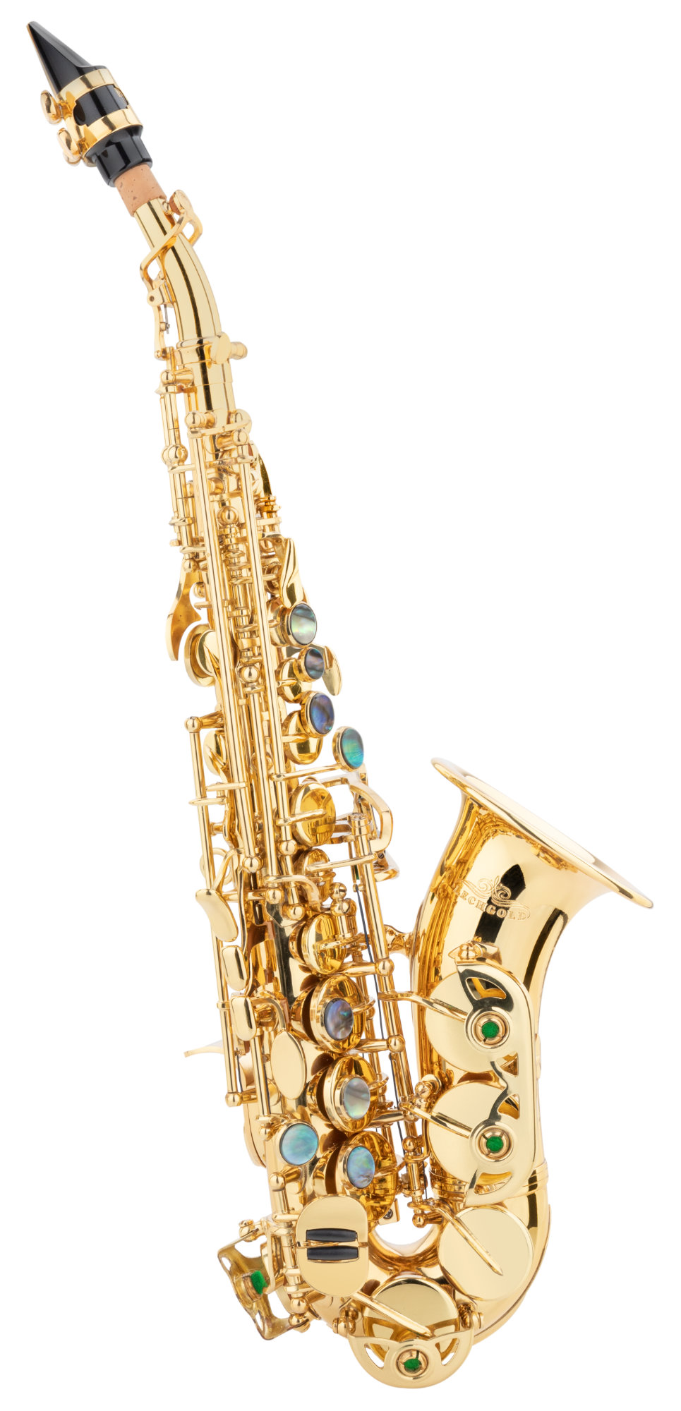 Saxophone - Lechgold LSS 20Lc Sopran Saxophon lackiert - Onlineshop Musikhaus Kirstein