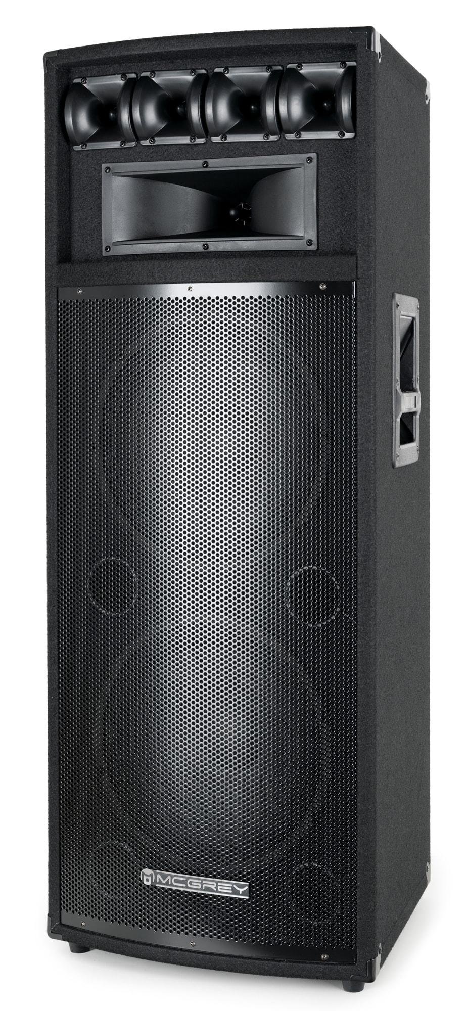 McGrey PowerDJ 212 Passiv Box