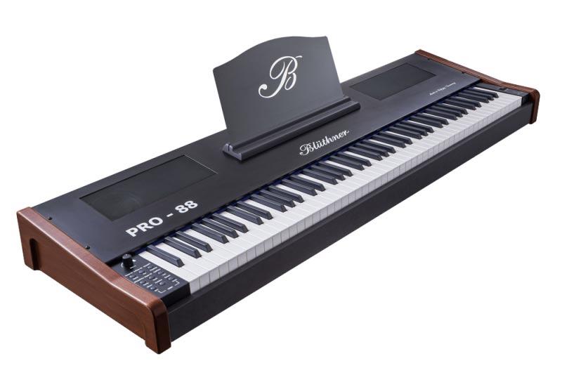 Blüthner e-Klavier PRO 88 Stagepiano, Mahagoni