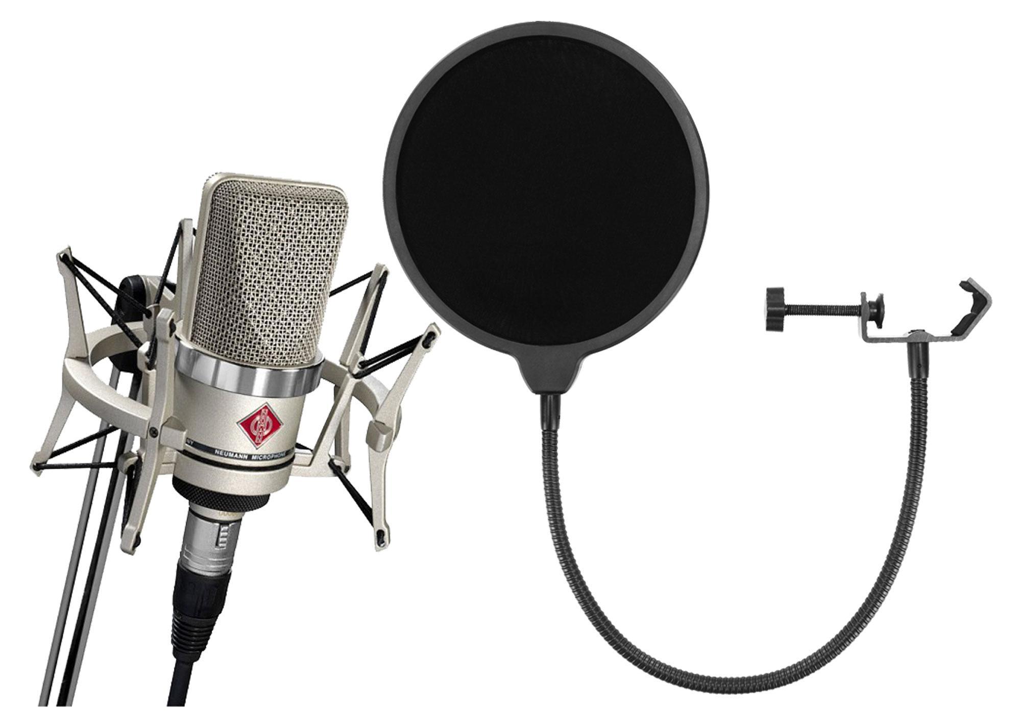 Mikrofone - Neumann TLM 102 NI Studio Mikrofon Set inkl. Popkiller - Onlineshop Musikhaus Kirstein