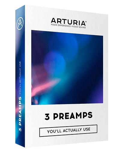 Arturia '3 Preamps Youll Actually Use' Software