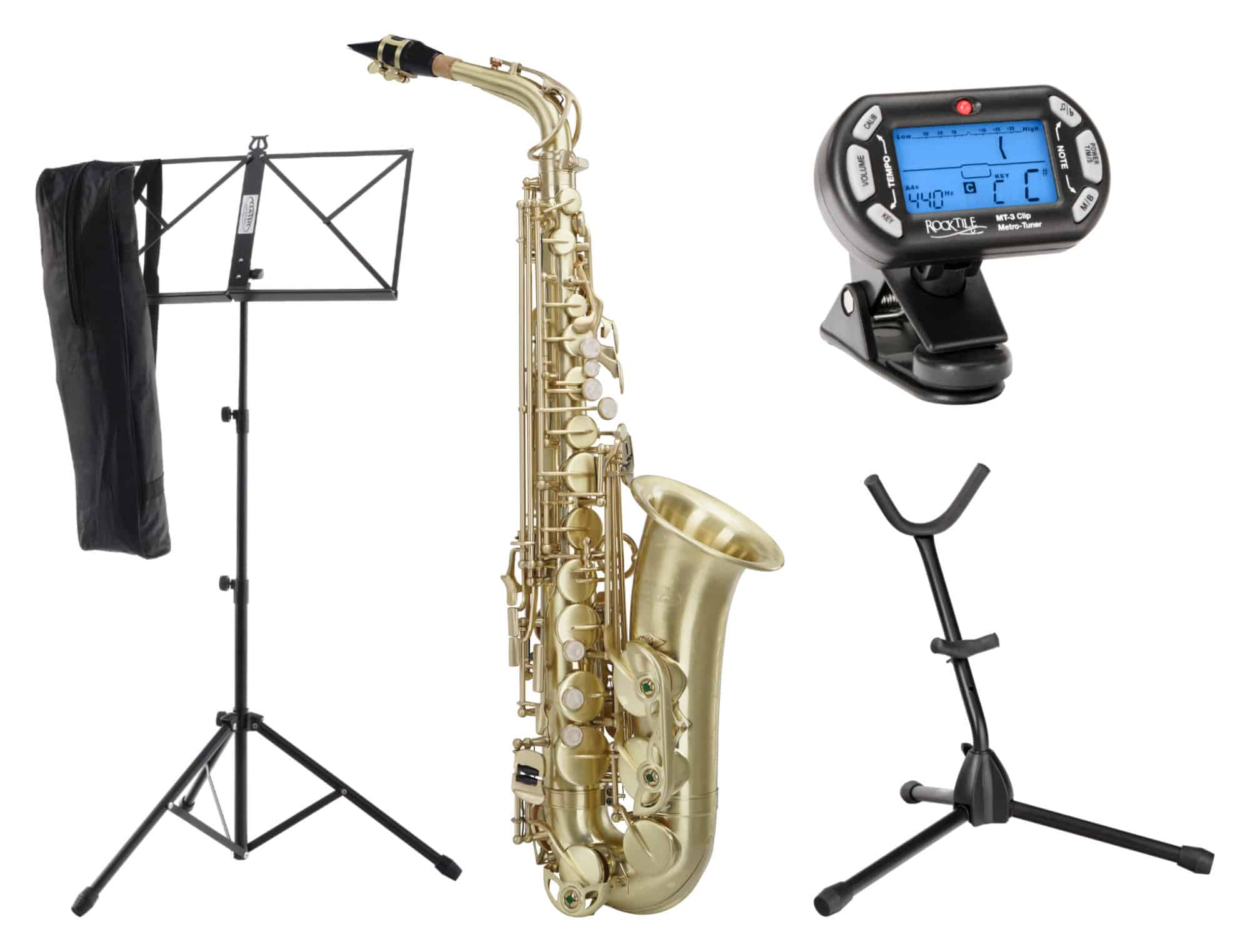 Classic Cantabile Winds AS 450 Brushed Altsaxophon SET