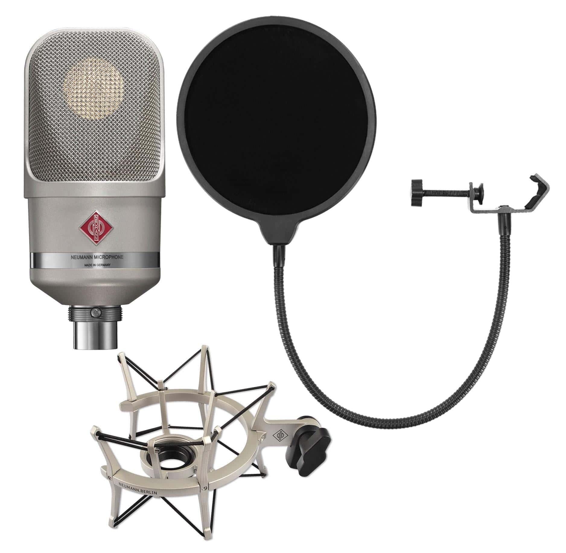 Mikrofone - Neumann TLM 107 NI Studio Set inkl. Popkiller - Onlineshop Musikhaus Kirstein