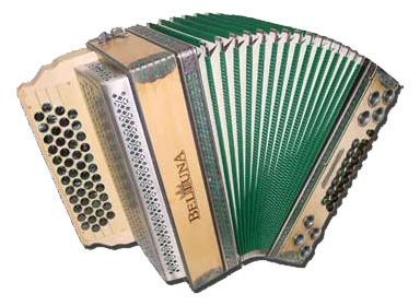 Beltuna Alpstar IV D Deluxe Natur Harmonika 4-reihig, 3-chörig