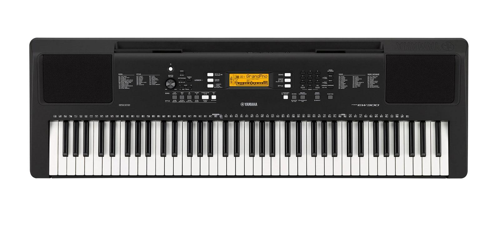 Yamaha PSR EW300 Keyboard, 76 Tasten