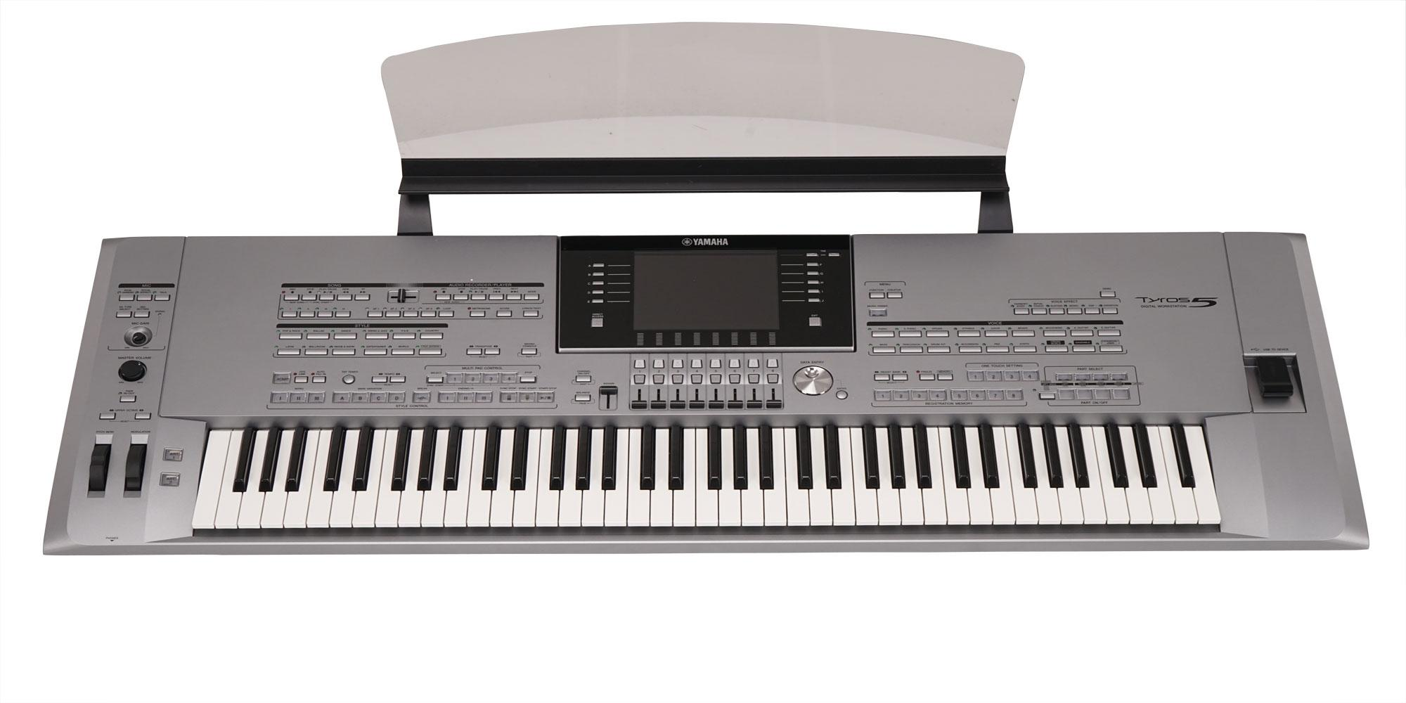 yamaha tyros 5 76 gebraucht privatankauf mit. Black Bedroom Furniture Sets. Home Design Ideas