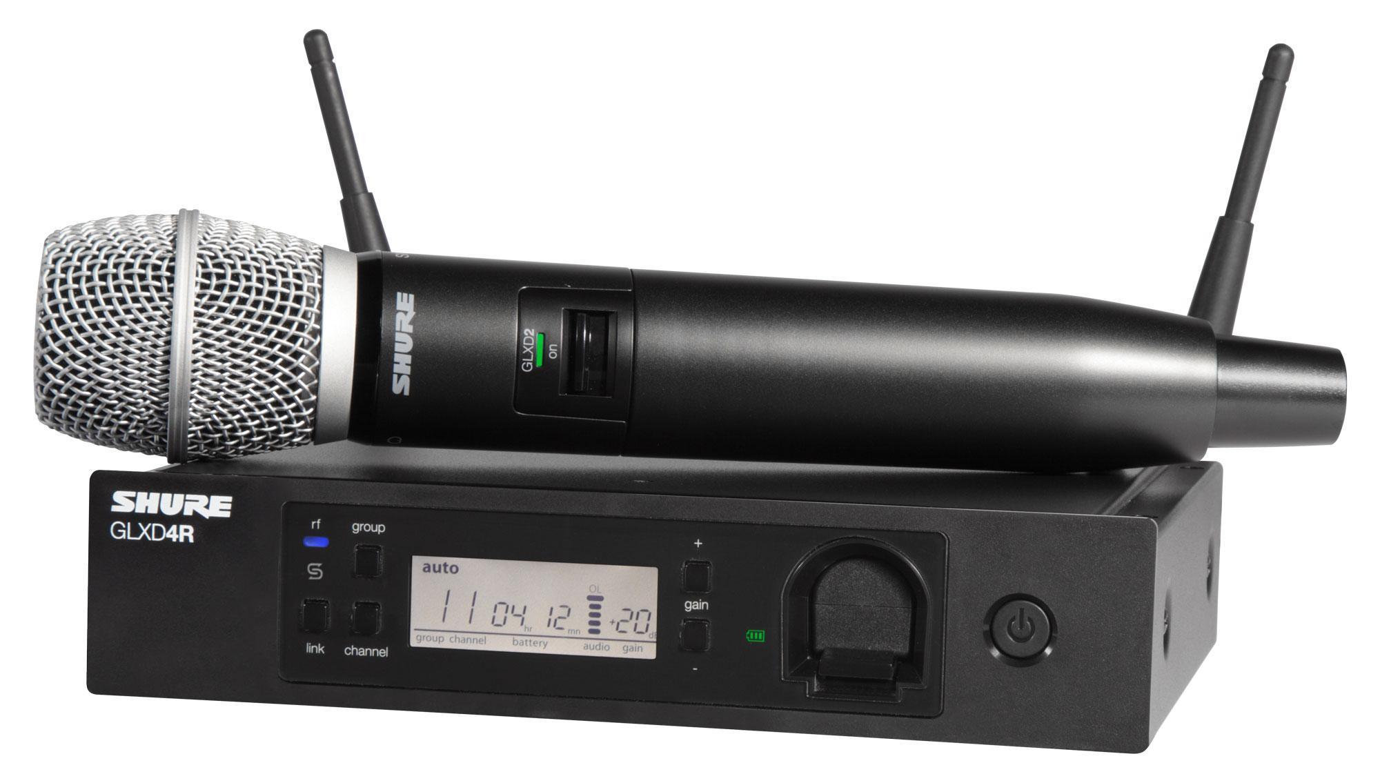 Drahtlossysteme - Shure GLXD24R|SM86 Digital Vocal Funksystem - Onlineshop Musikhaus Kirstein