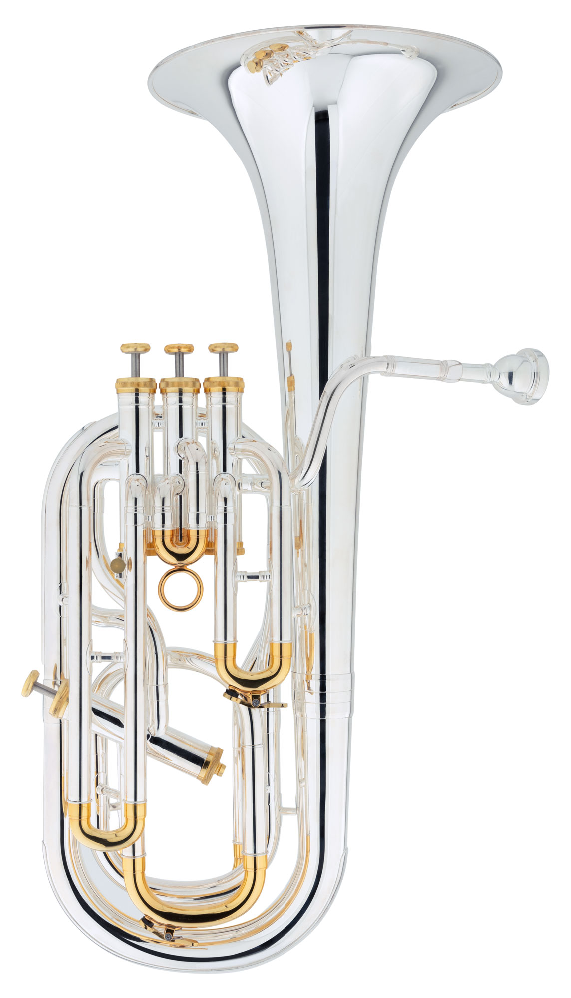 Baritone - Lechgold Supreme BH 231S Bb Bariton versilbert - Onlineshop Musikhaus Kirstein