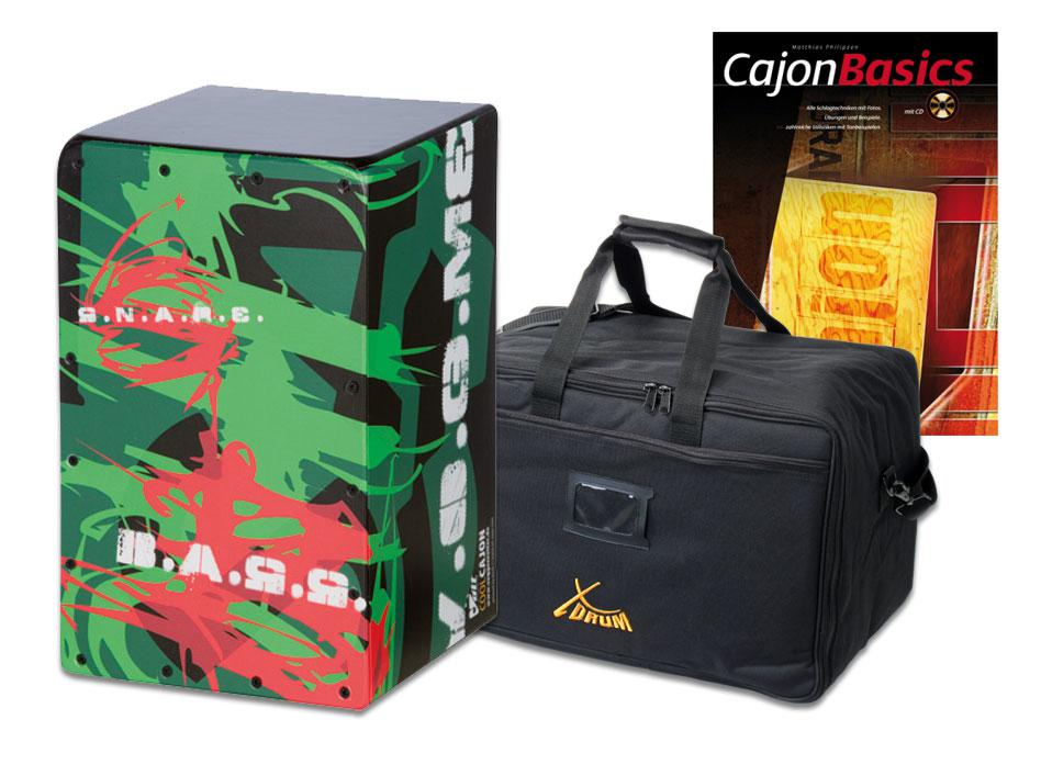 VOLT Cajon 'Jungle Ace' SET inkl. Tasche