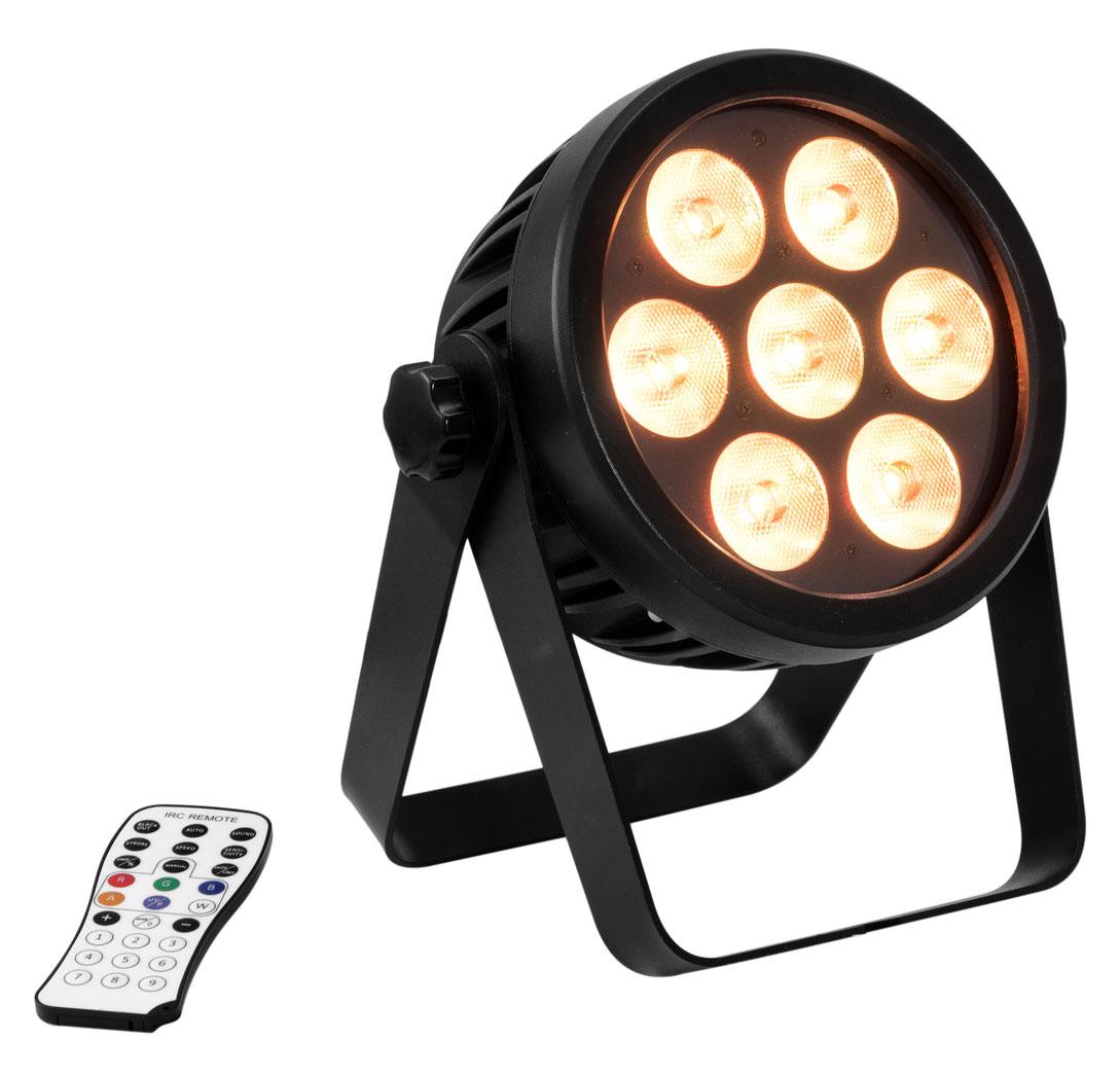 Scheinwerfer - Eurolite LED 4C 7 Silent Slim Spot - Onlineshop Musikhaus Kirstein