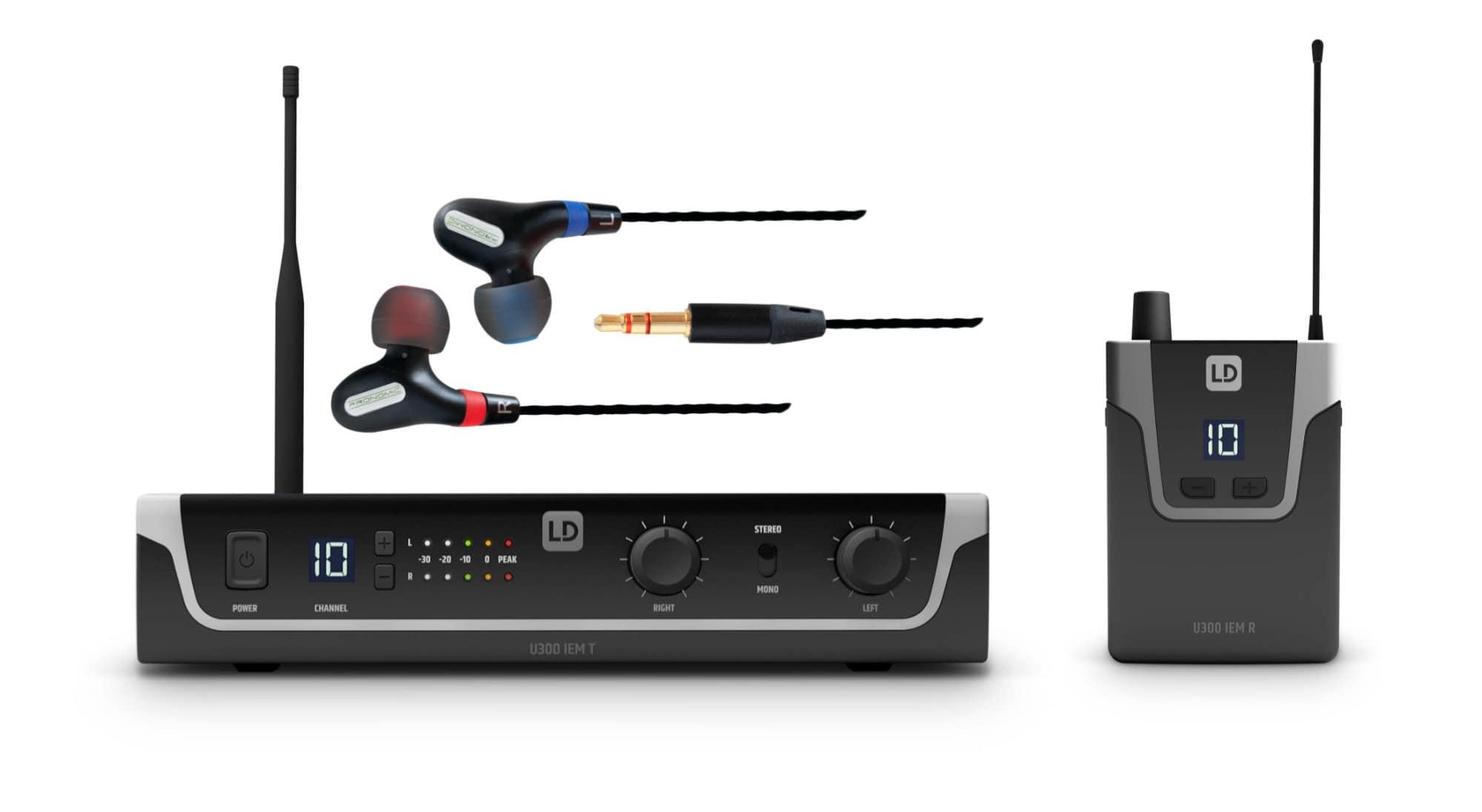 Drahtlossysteme - LD Systems U308 IEM In Ear Monitoring System Set 2 - Onlineshop Musikhaus Kirstein