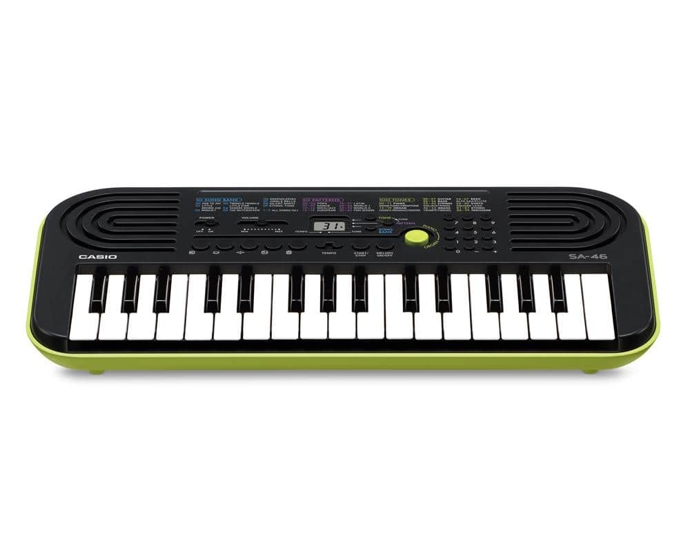 casio sa 46 mini kinder keyboard e piano synthesizer 32. Black Bedroom Furniture Sets. Home Design Ideas