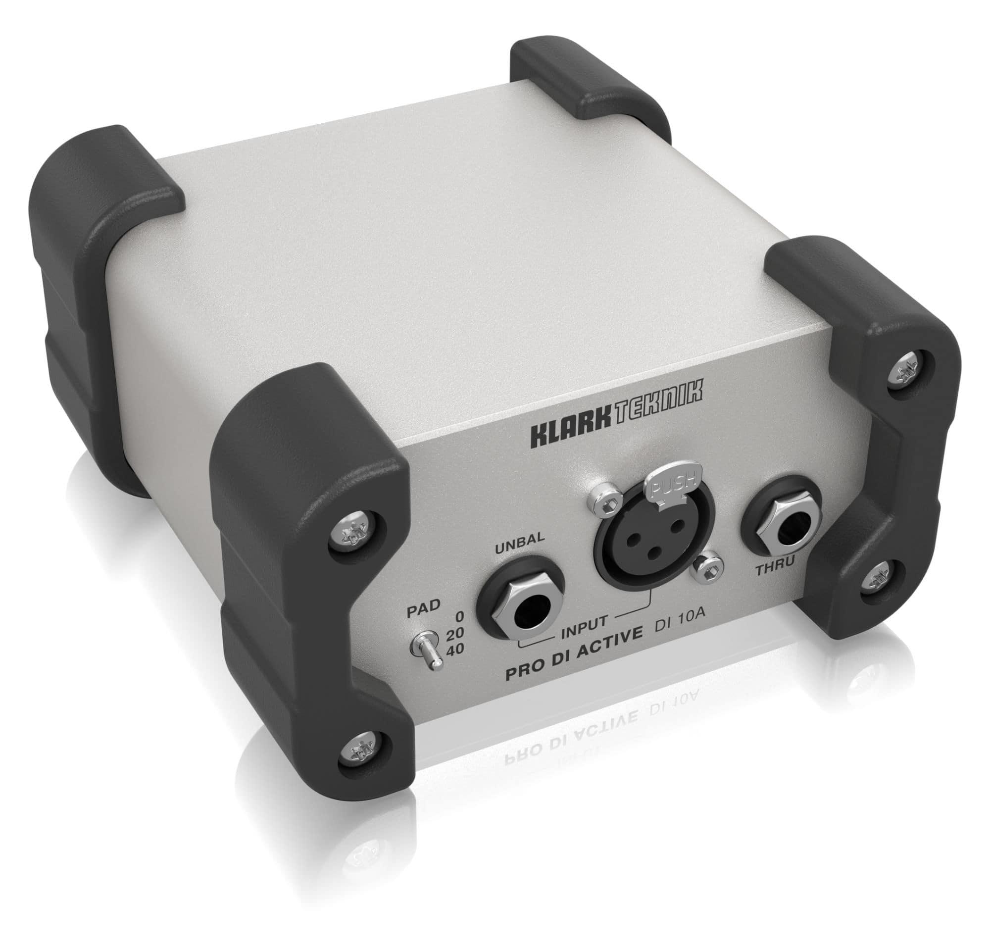 Diboxen - Klark Teknik DI 10A - Onlineshop Musikhaus Kirstein