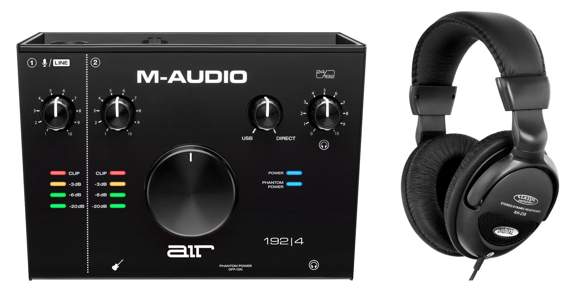 Pchardware - M Audio AIR 192 4 Interface Set - Onlineshop Musikhaus Kirstein