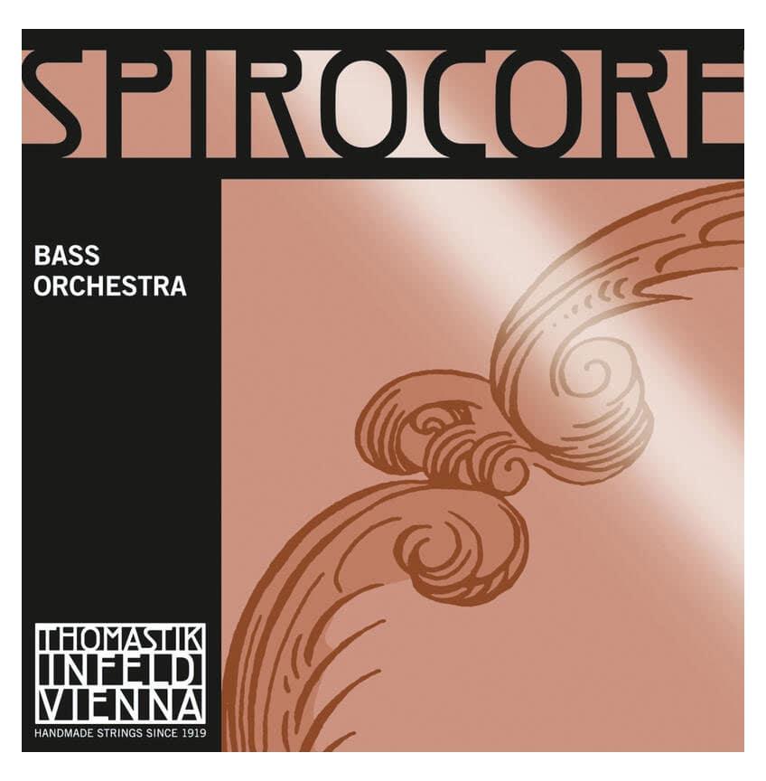 Streichsaiten - Thomastik Spirocore Orchestra 3|4 Saitensatz für Kontrabass - Onlineshop Musikhaus Kirstein