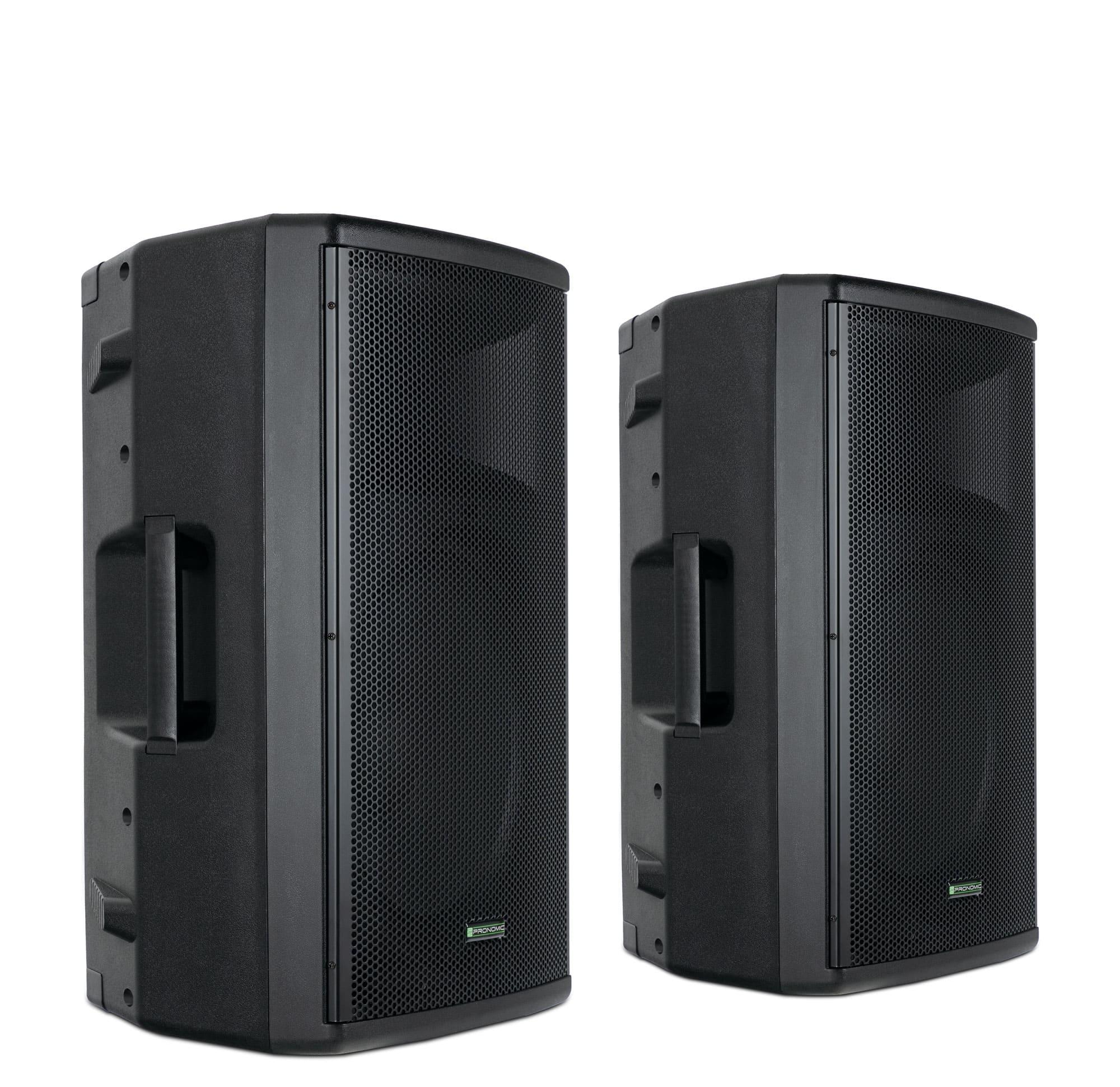 Paboxen - Pronomic E 212 MA 12 Aktivbox 500 Watt Stereo Set - Onlineshop Musikhaus Kirstein