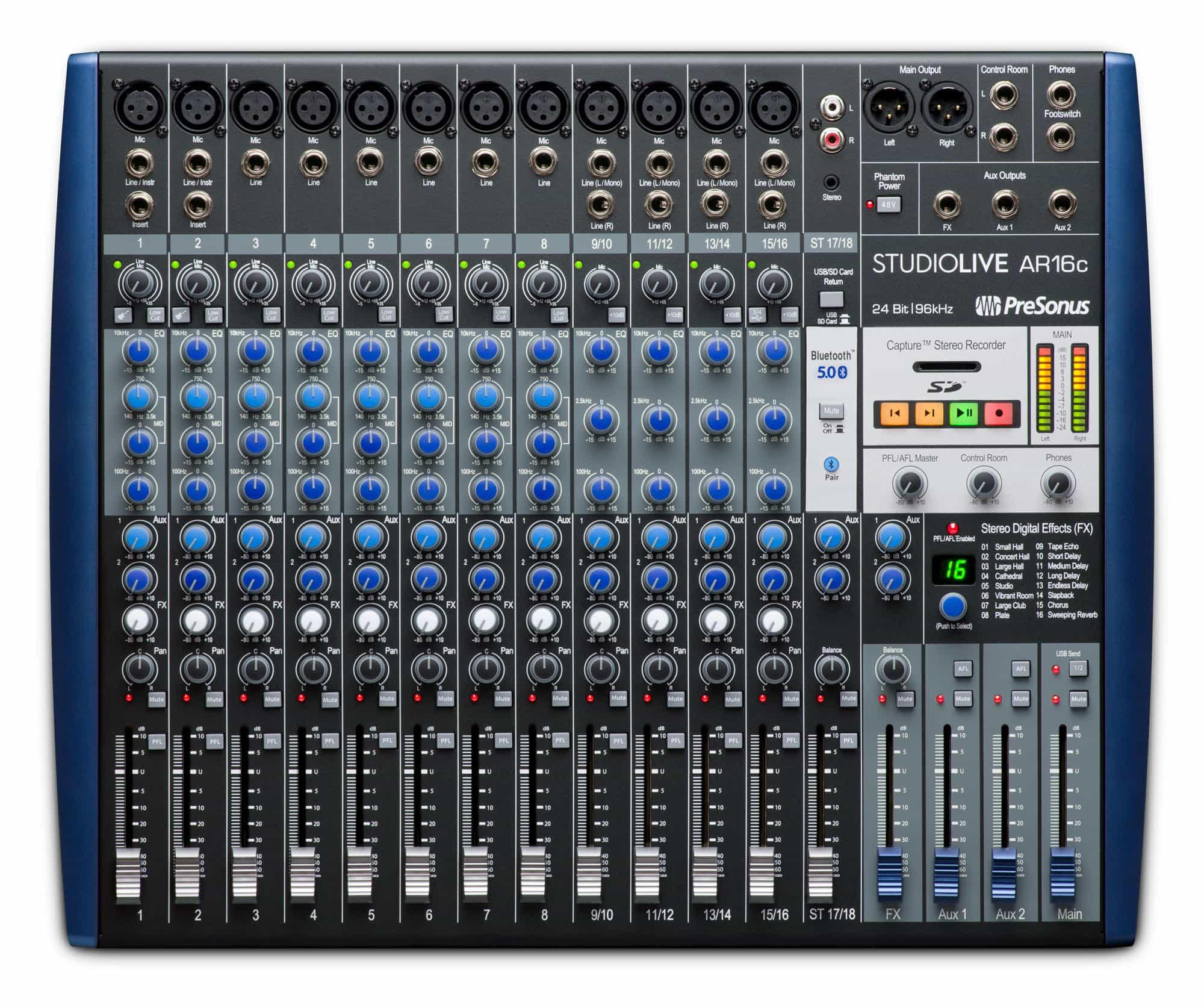 Mischpulte - Presonus StudioLive AR16c - Onlineshop Musikhaus Kirstein