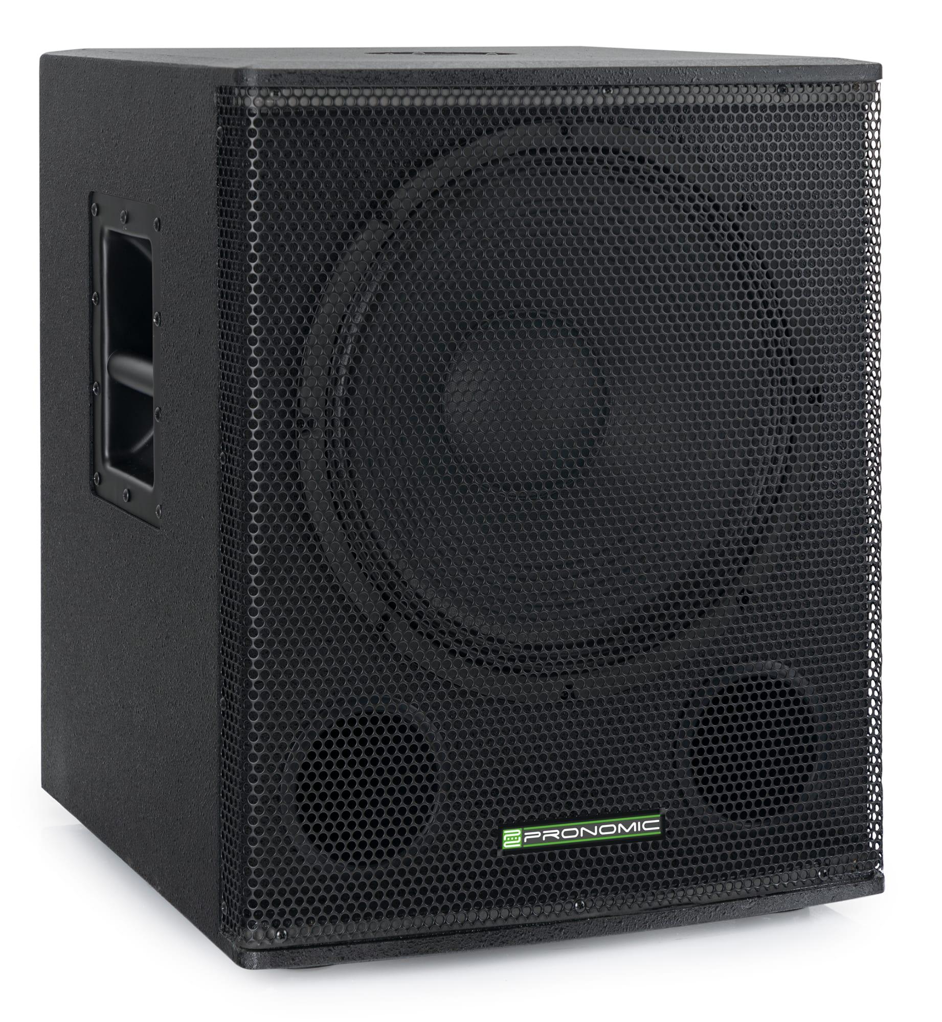 Paboxen - Pronomic SA 18 SUB Aktiv Subwoofer - Onlineshop Musikhaus Kirstein