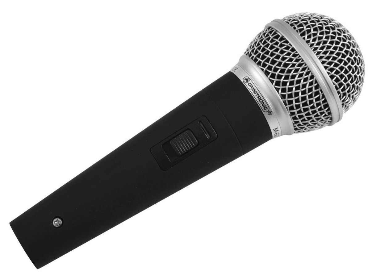 Mikrofone - Omnitronic M 60 Dynamisches Mikrofon - Onlineshop Musikhaus Kirstein